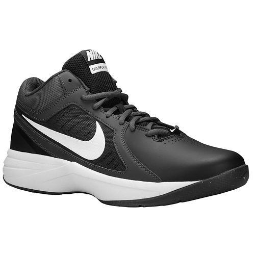 black and white nike basketball shoes,Nike Overplay VIII - Men's -  Basketball - Shoes - Black/Anthracite/Dark