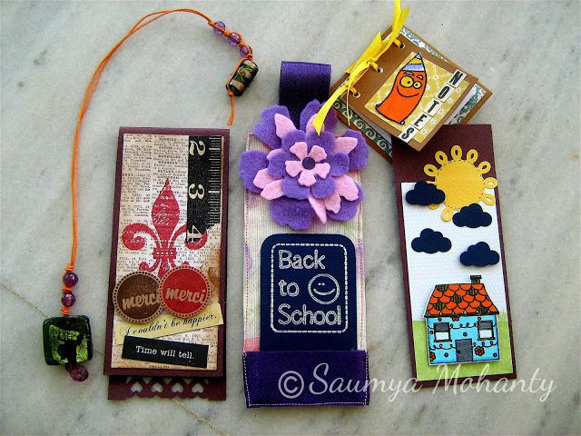 Bookmarks by Saumya