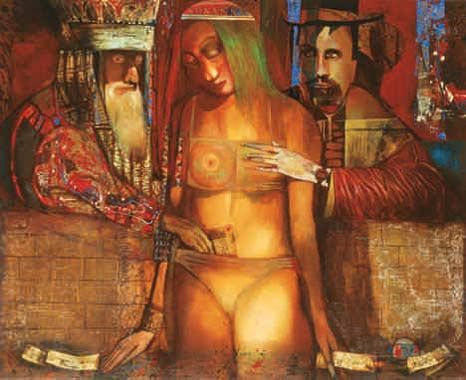Alexander Gurevich (b. 1944) - Susanna and the Elders (1999)