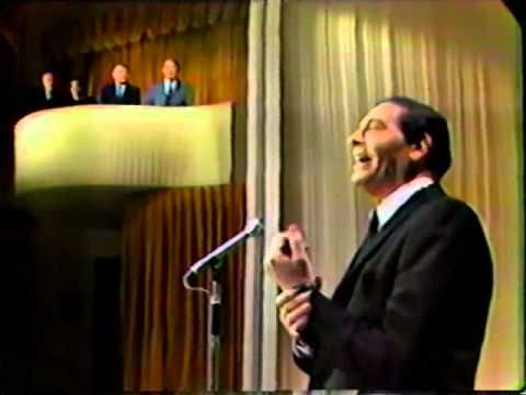 Henny Youngman Heckles Milton Berle, 1966. Simple, clean comedy from two masters.