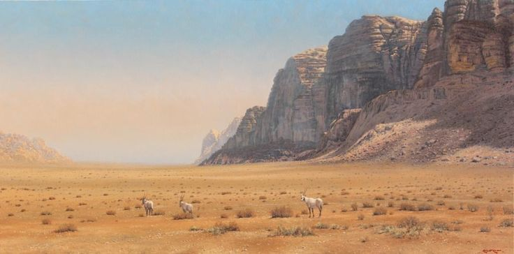 Desert pride Oil on canvas  by Robert Koch