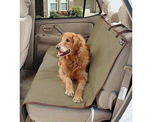 Dog Seat Cover - Waterproof Hammock Pet Seat Cover for Cars with Seat Anchors Nonslip Extra Side Flaps Machine Washable Barrier Dog Seat Cover