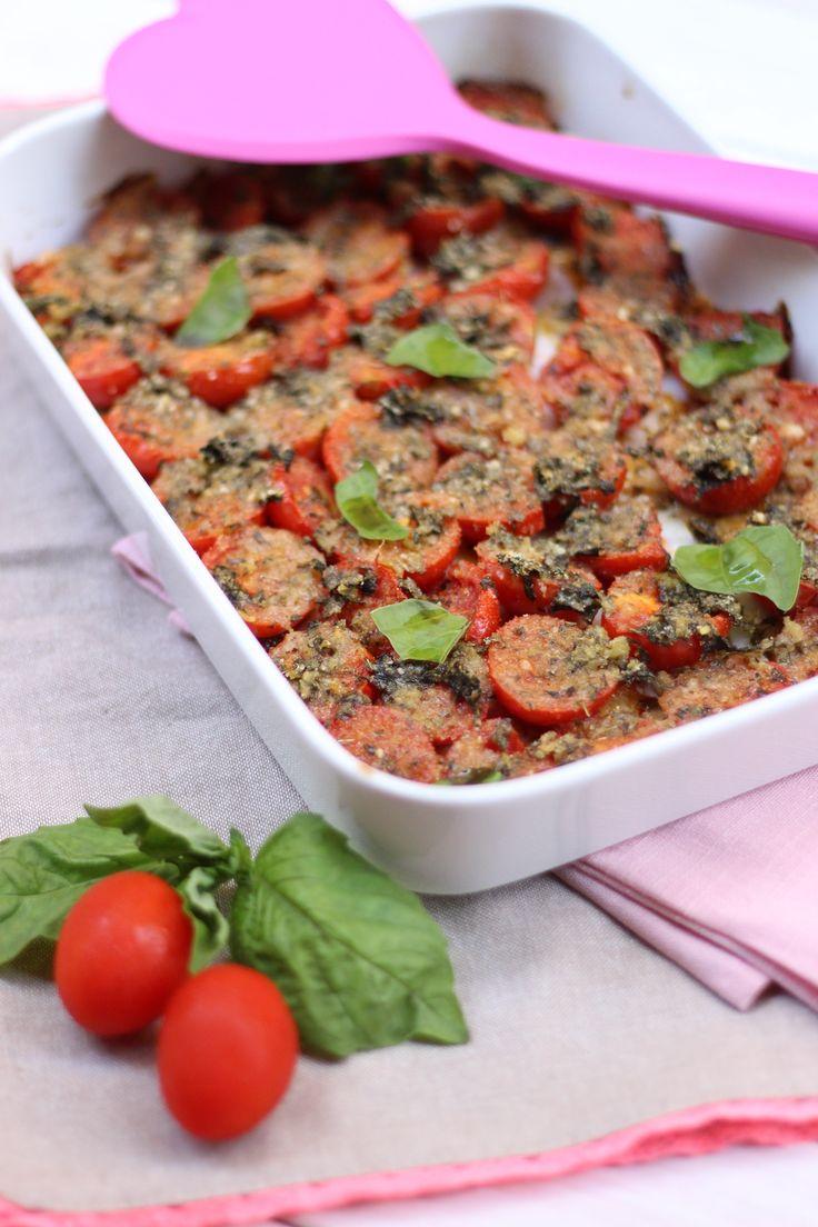 pomodorini saporiti al forno Ingredienti per 4 persone 600 gr di pomodorini (io…