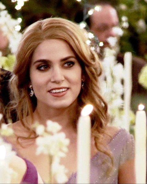 Rosalie at bella&edward's wedding reception love love her dress-breaking dawn part 1