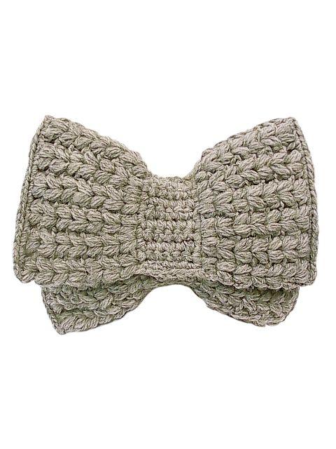 Caterina Bertini crochet clutch bag
