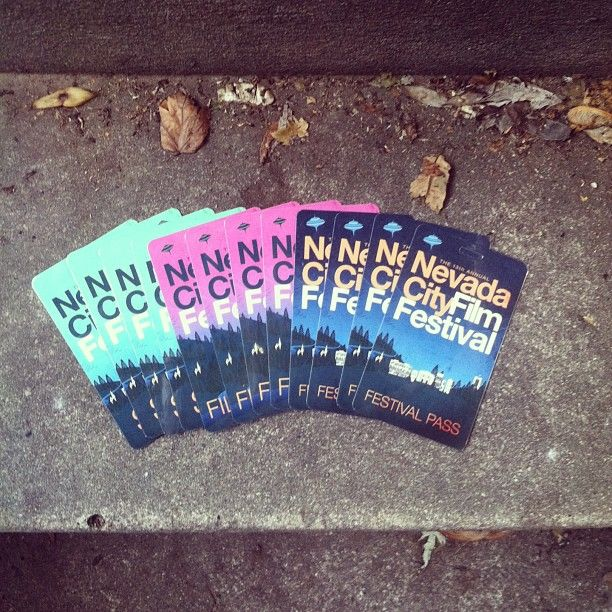 #ncff2013 passes are here! An they are cooooooool.