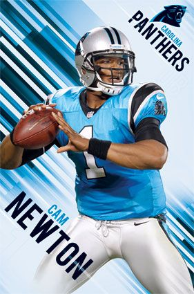 Carolina Panthers - Cam Newton 2013 | NFL | Sports | Hardboards | Wall Decor | Pictures Frames and More | Winnipeg | Manitoba | MB | Canada