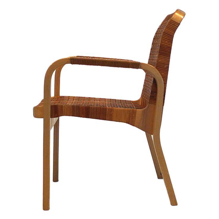 1stdibs   Alvar Aalto for ICF Birch 45/R Armchair