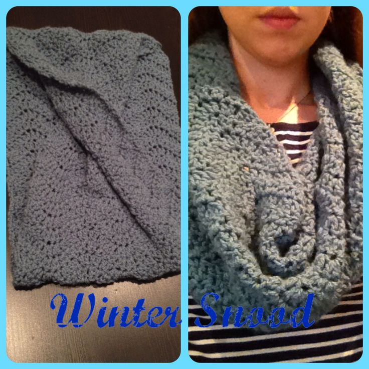 Crocheted snood