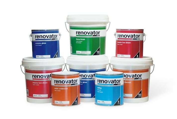 Dulux Renovator Paint Can Labels A New Brand Of Budget