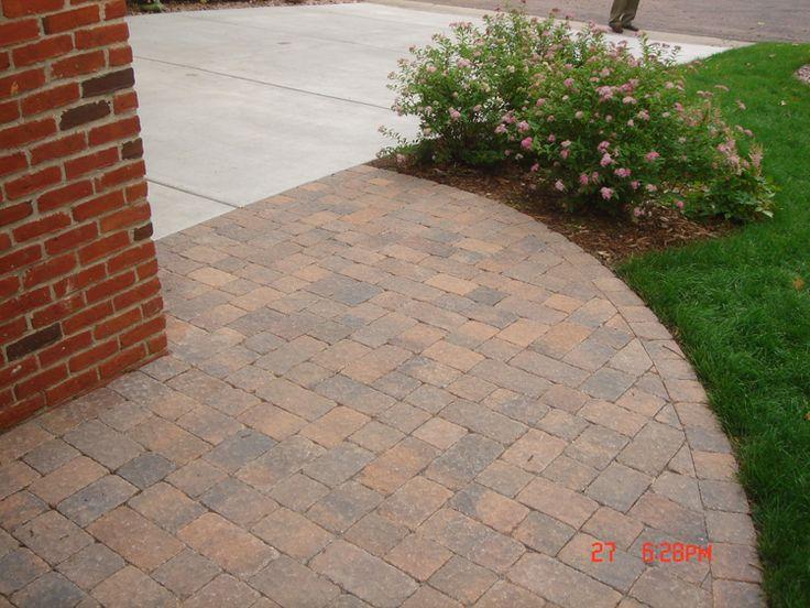 77 best patio ideas images on pinterest | patio ideas, paver ... - Brick Paver Patio Ideas