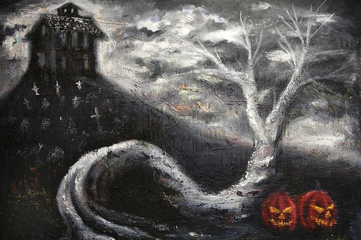 Haunted Mansion Bobby Holland Halloween Framed Tattoo Paper Art Print