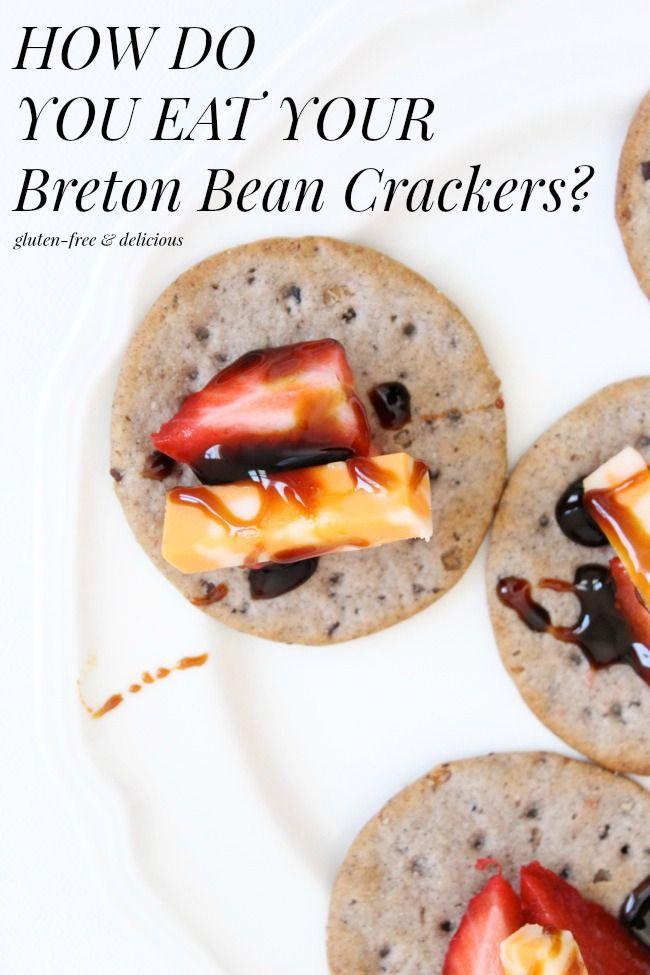 How Do You Eat  Your Breton Bean Crackers? #glutenfree