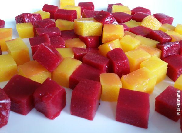 recept gezonde snoepjes: Yummie Gummie | Moodkids