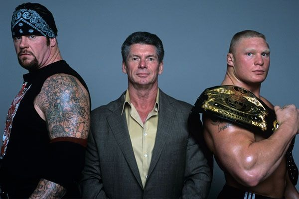 The Undertaker, Vince McMahon and Brock Lesnar