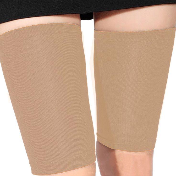 Mode Haut Farbe dünne Oberschenkel Bein Shaper Fett verbrennen Compression Stovepipe Beinwärmer Bein Abnehmen