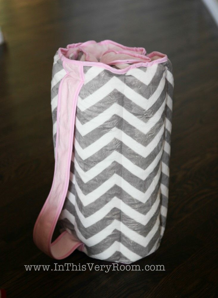 Monogrammed Chevron Stripes Grey & Pink Nap Mats for Kids What a cute Monogrammed Chevron Stripes Nap Mats for toddlers and kids!  These are plush, soft, and very nice nap mats for preschool, mother's day out programs, grandma's house, sleepovers and more. Your little one will surely get alot of use out this very nice nap mat! Made in the USA  - YAY! Includes an attached blanket and the mat is filled more where head is to double as the pillow...no need to pack a...