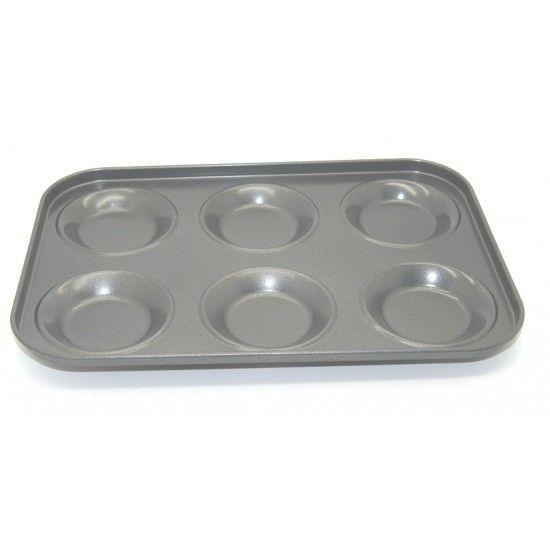 Форма для кекса печенья металлическая чёрный цвет