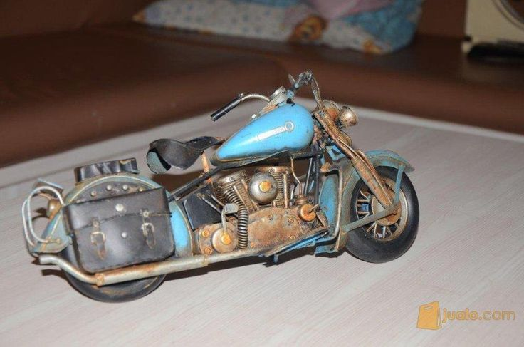 Miniature Motor Harley Softtail Relic