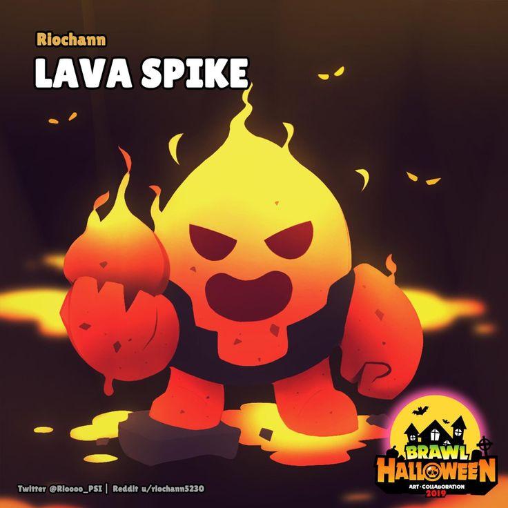 [Brawl Halloween] Lava Spike by u/riochann5230 Brawl
