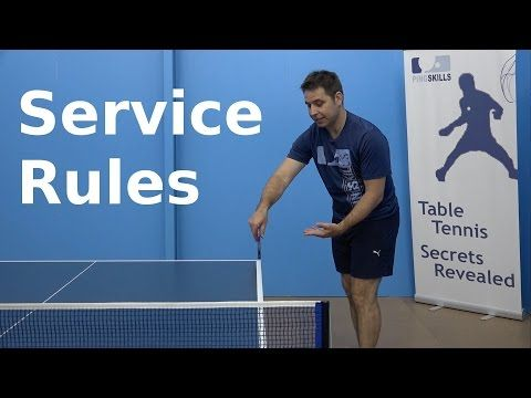 17 best images about ping pong on pinterest ping pong for Table tennis serving rules