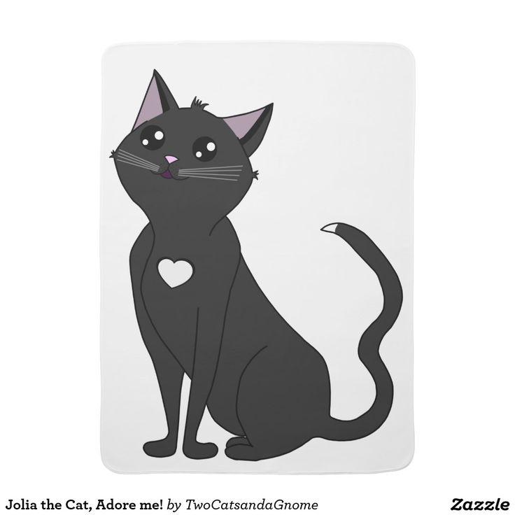 Jolia the Cat, Adore me! Cobertor De Bebe