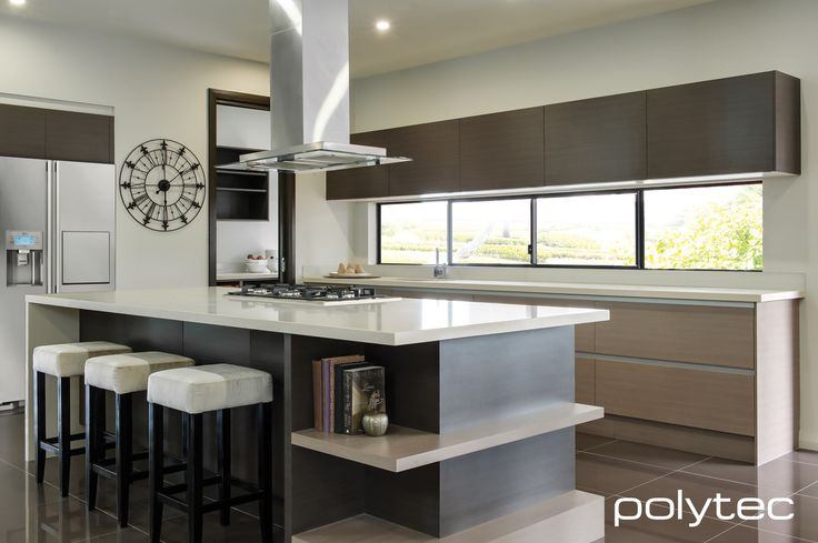 Polytec kitchen pinterest custom kitchens doors and for Kitchen designs harare