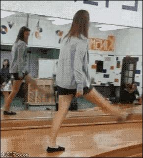 17 GIFs of people falling down... best medicine for a bad day: at least you're not these people.
