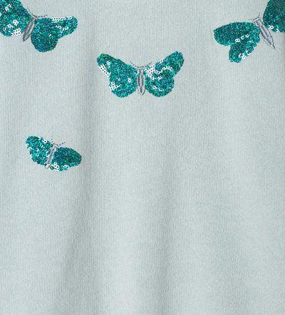Image 5 de Sweat libellules à strass de Zara