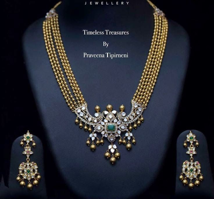Jewellery Designs: Trendy Long Chain by Praveena Tipirneni