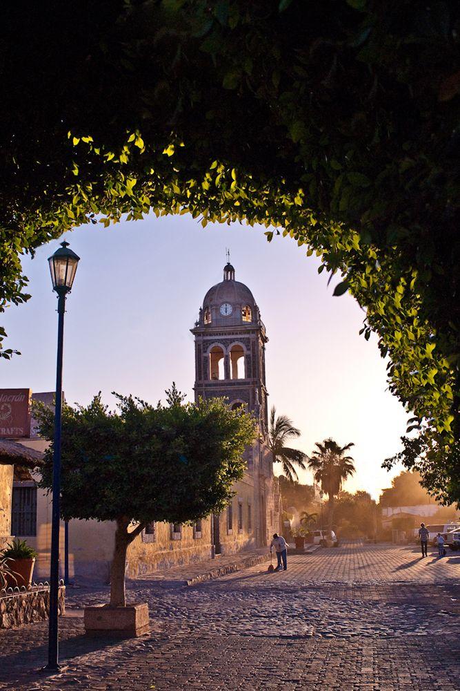 Nuestra Senora de Loreto, the first mission in the Californias. Baja California Sur, Mexico
