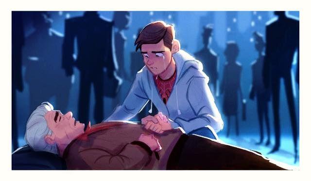 Uncle Ben By Cesarvs On Deviantart Uncle Bens Spiderman Art Guy Pictures