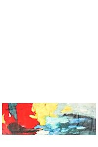 ABSTRACT 30X90CM WALL CANVAS