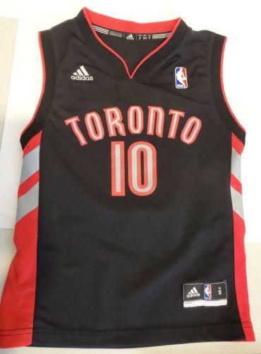 2531f4066 Toronto-Raptors-DeMar-DeRozan-Adidas-NBA-Jersey-size-Youth-S-Black ...