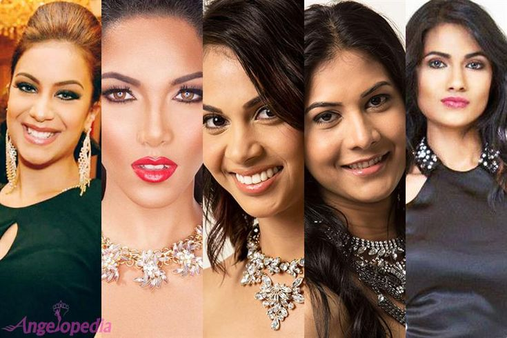 Miss World Trinidad and Tobago 2015 Top 5 Favourites