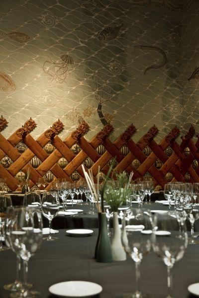 Restaurante - Hotel España - Barcelona_ modernismo_mural_marino