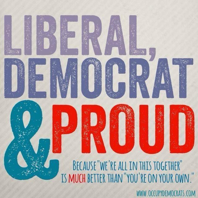 Proud Liberal Democrat | Exactly | Proud Democrat | Pinterest