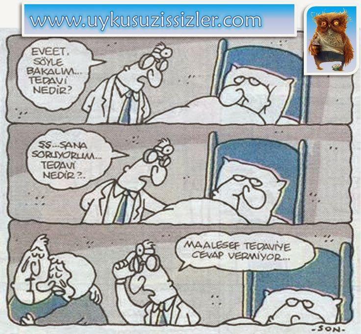 Karikatür: Maalesef tedaviye cevap vermiyor..