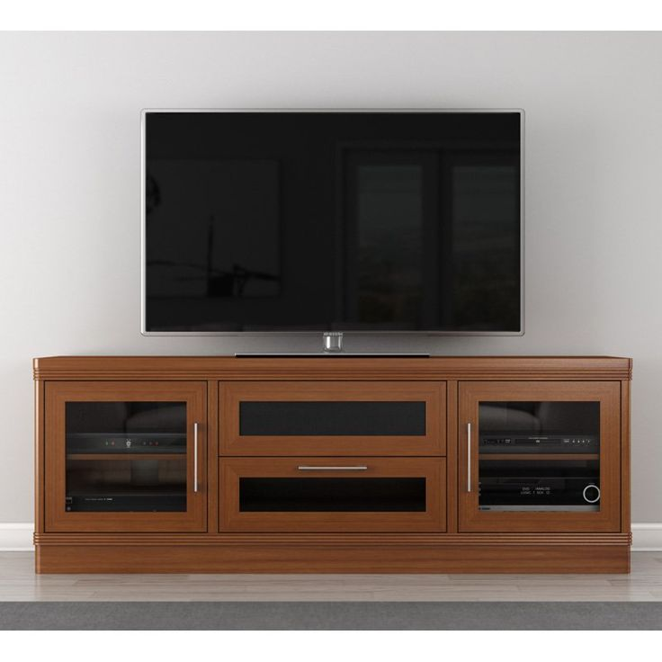Furnitech Transitional 70 Inch TV Stand - FT72TRLC
