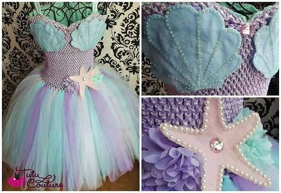 Adult mermaid tutu dress/mermaid tutu dress/mermaid costume/mermaid dress/mermaid tutu/