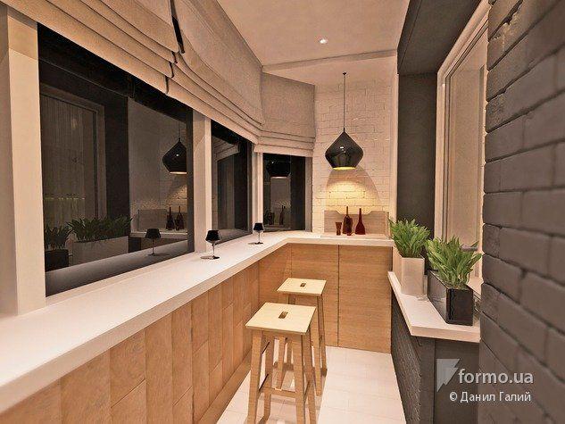 Теплый дом, Данил Галий, Лоджия/Балкон, Дизайн интерьеров Formo.ua