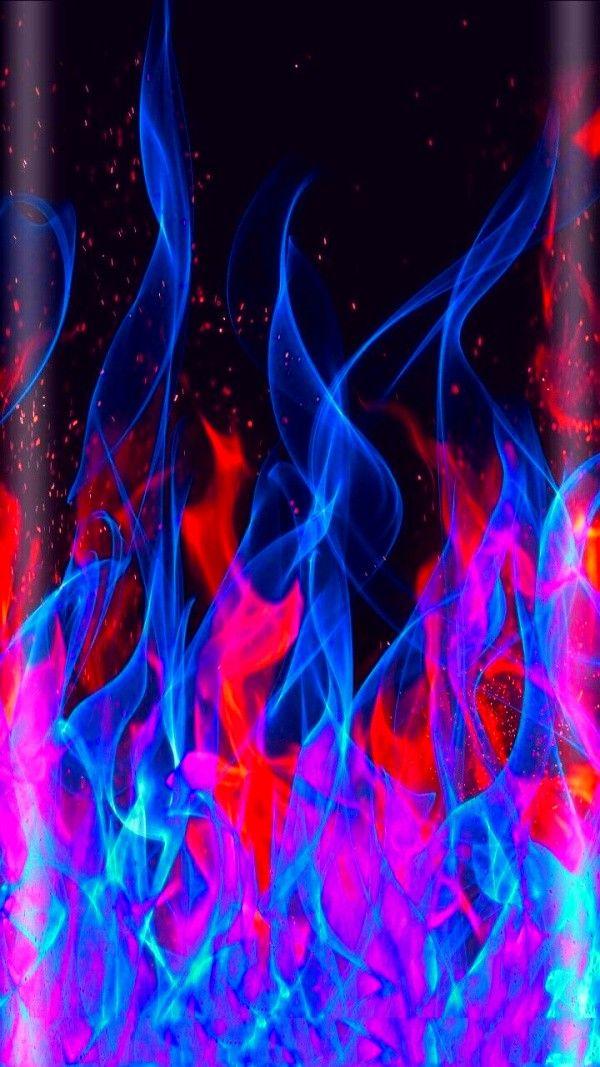 Wallpaper Of Art Line Fire Frame Patterns Textures