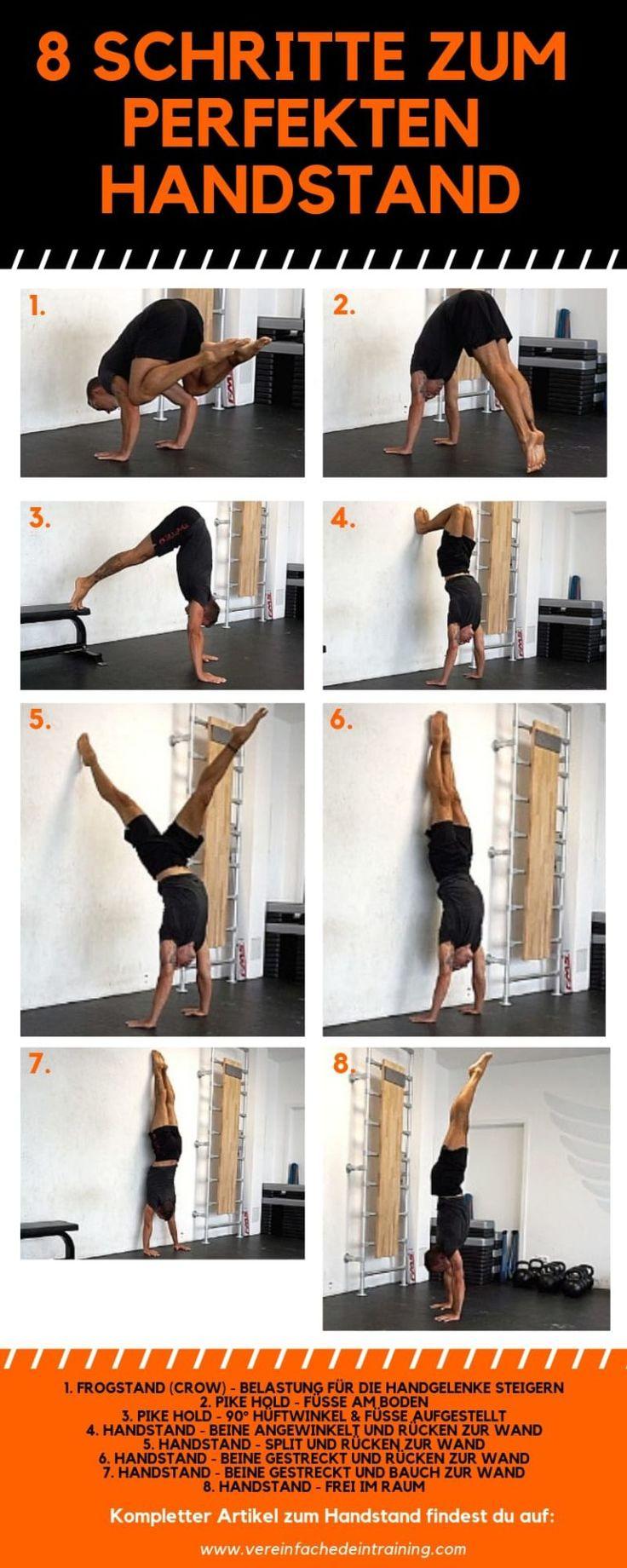 Handstand lernen – Ultimative Anleitung zum freien Handstand 2   – Fitness