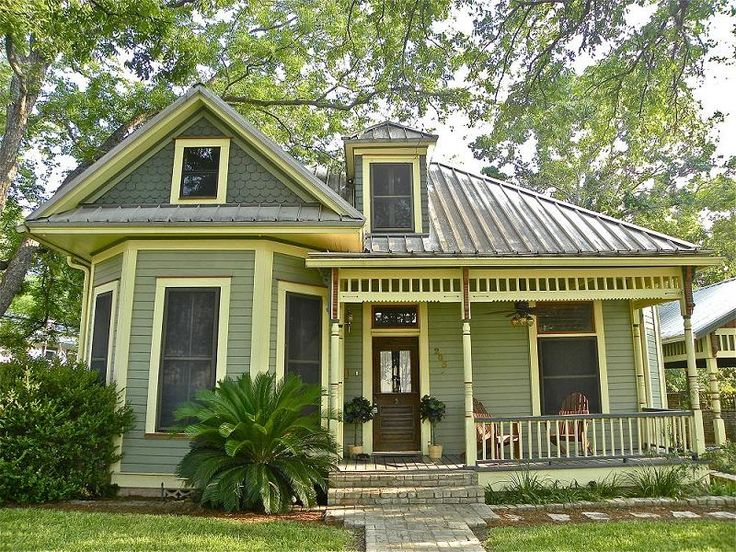 Exterior Paint Colors For Single Story Folk Victorian Homes