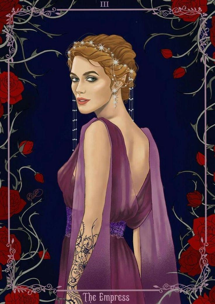 The Empress Feyre by https://osossum.deviantart.com/ ACOMAF ACOWAR Sarah J Maas