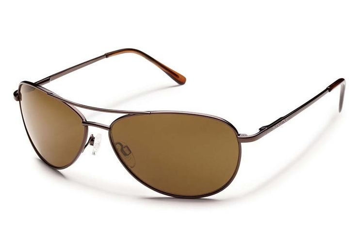 Suncloud Patrol Brown Sunglasses, Brown Polarized Lenses