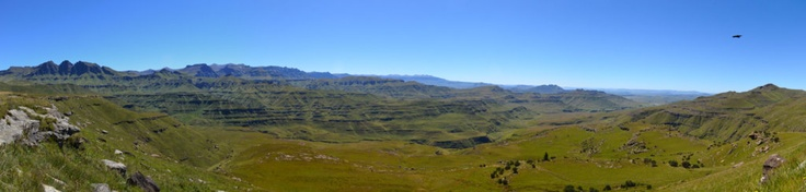 Our lunch spot between South Africa and Lesotho