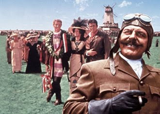 Those Magnificent Men in Their Flying Machines - Terry Thomas, Robert Morley, James Fox, Eric Sykes, Sarah Miles, Gert Fröbe, Red Skelton, Benny Hill anmd Flora Robson