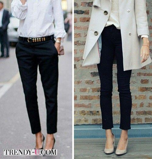Черные брюки на все случаи жизни