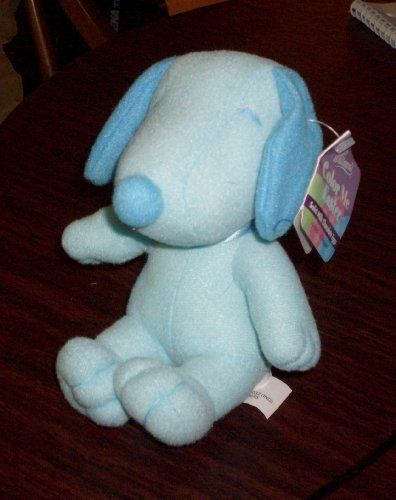 Peanuts Snoopy Plush Pastel Blue @ niftywarehouse.com #NiftyWarehouse #Geek #Fun #Entertainment #Products